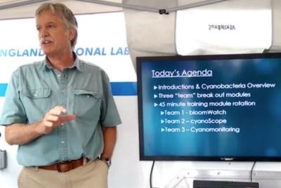 cyanobacteria monitoring training in rhode island