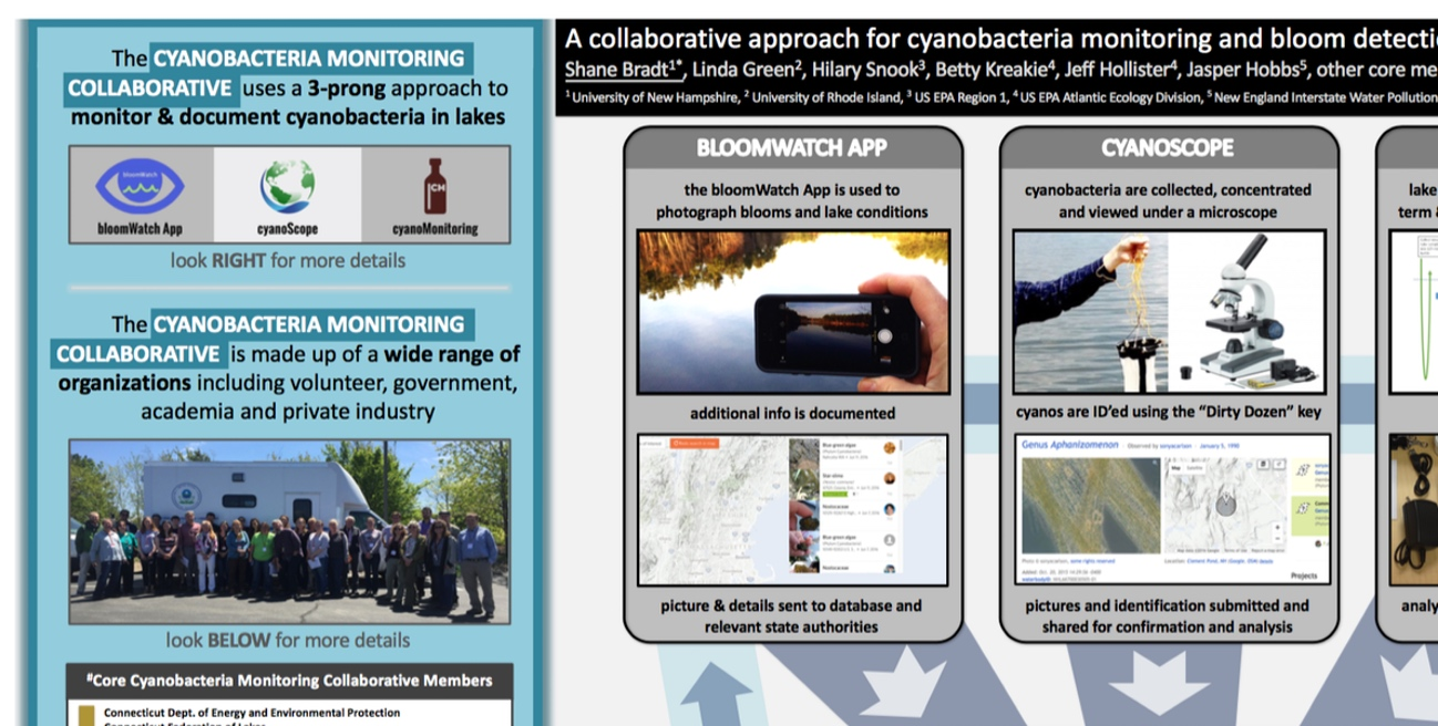 A collaborative, regional approach to cyanobacteria monitoring and bloom detection in New England lakes