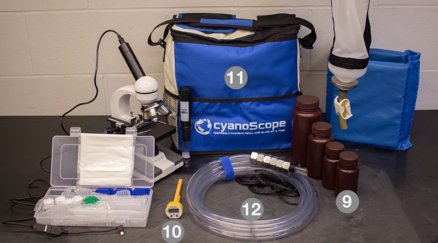 cyanoMonitoring equipment | the kit